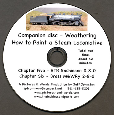 Weathering DVD- How To Paint A Model Train Steam Locomotive